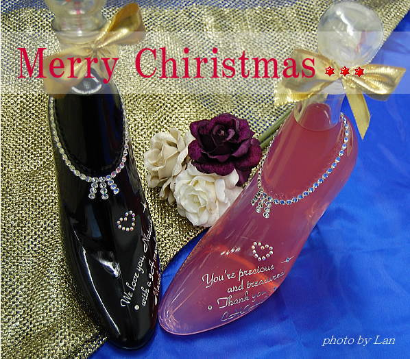 クリスマスプレゼントはシンデレラのくつを!