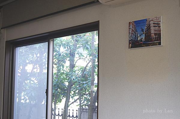 アトリエココロ文字入れ写真アート壁掛け時計